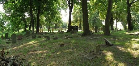 Cmentarz żydowski wGdańsku