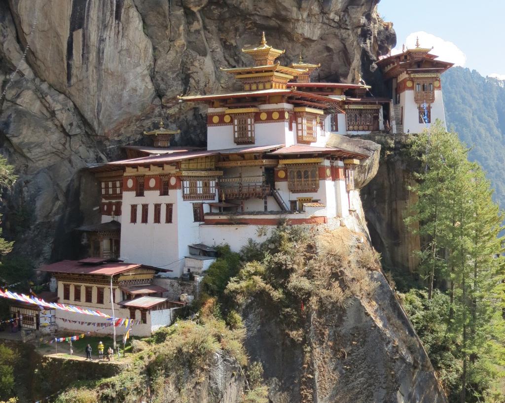 Klasztor wBhutanie